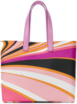Emilio Pucci printed tote - women - Polyurethane - One Size