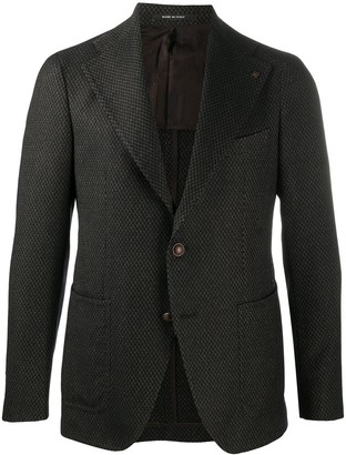 Tagliatore Woven Single Breasted Blazer