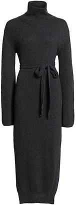 Nanushka Canaan Funnelneck Sweater Dress