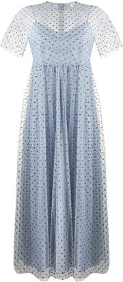 RED Valentino tulle mid-length dress
