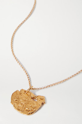 Alighieri Year Of The Rabbit Gold-plated Necklace