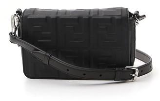 Fendi FF Embossed Camera Bag
