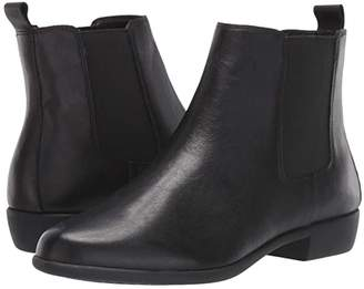 Aerosoles Step Dance (Black Leather) Women's Boots