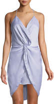 The Jetset Diaries Opal Twist-Front Strappy Mini Dress