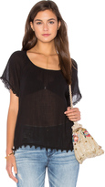 Velvet by Graham & Spencer Buttercup Cotton Gauze Top