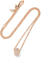Piaget Possession 18-karat Rose Gold Diamond Necklace - one size