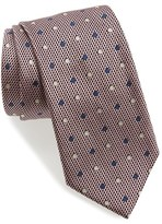 Ermenegildo Zegna Men's Dot Silk Tie
