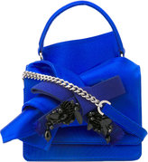 No.21 knotted cross-body bag - women - Silk/Cotton - One Size