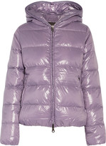 Duvetica Thiacinque quilted shell down hooded coat