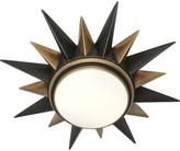 Rob-ert Cosmos 2 - Light 20'' Unique/Statement Star Flush Mount Robert Abbey Fixture Finish: Warm Brass