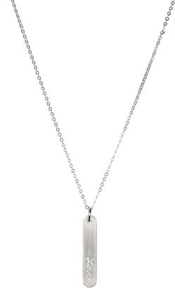 Nashelle Love Bar Pendant Necklace