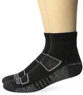 Dickies Men's 2 Pack All Season Merino Wool Light Cushion Quarter Socks