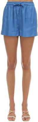 Underprotection Saga Satin Pajama Shorts
