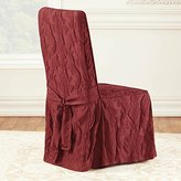 Sure Fit Matlasse Damask 1 Piece Dining Chair Slipcover