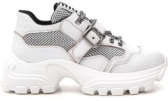 Miu Miu Chunky Sole Strap Sneakers