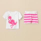 Children's Place Flamingo pj set