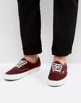 Vans Authentic Sneakers Varsity Suede Red