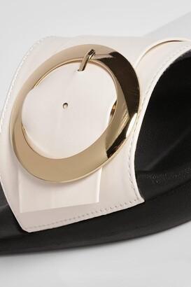 boohoo Round Buckle Detail Slider