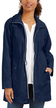 Style&Co. Style & Co Petite Hooded Anorak Jacket, Created for Macy's