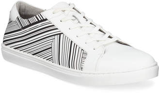 Kenneth Cole Men's Kam Stripes Low-Top Leather Sneakers