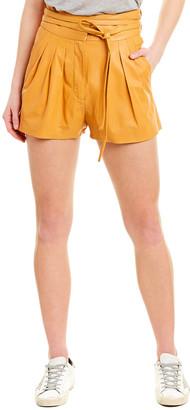 IRO Tenacity Leather Short