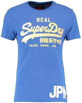 Superdry Vintage Logo Print Tshirt Royal Marl