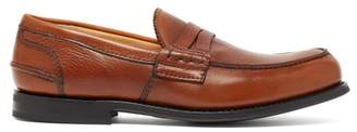 Church's Pembrey Leather Penny Loafers - Mens - Brown