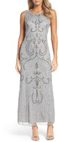 Pisarro Nights Women's Scoop Back Embellished Gown