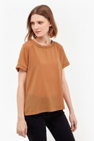French Connection Polly Plains Stitch T-Shirt