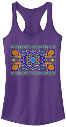 Disney Juniors' Aladdin Magic Carpet Panel Print Ideal Racerback Tank Top