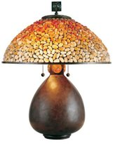 Quoizel Pomez Tiffany 2 Light Table Lamp [Tools & Home Improvement]