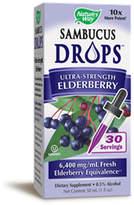 Nature's Way Sambucus Drops - Elderberry by 1oz Drops)