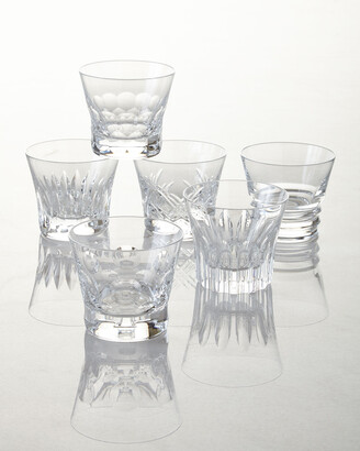 Baccarat Everyday Assorted Old Fashion Tumblers, Set of 6