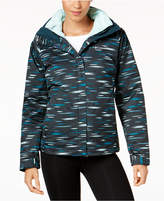 Columbia Printed Outer West Interchange Insulated Puffer Coat
