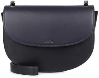 A.P.C. Geneve Leather Crossbody Bag