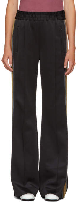 Marc Jacobs Black Striped Track Pants