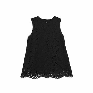 Lindsay Nicholas New York Lace Top In Black