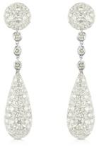 Thumbnail for your product : Colucci Diamonds Boucles d'oreilles en or blanc 18 carats et diamants 12.11 CTW