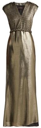 Max Mara Bacio Dress - Gold