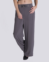 Missy Empire Fifi Charcoal Crepe Palazzo Trouser