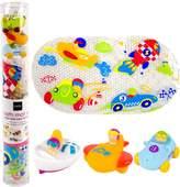 Kushies Baby Bath Mat and Squirter Set-Adventure