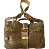 Loewe Crocodile Shoulder Bag