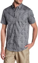 Burnside Printed Contemporary Fit Shirt
