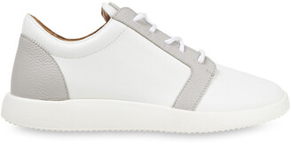Giuseppe Zanotti Two-tone Leather Sneakers