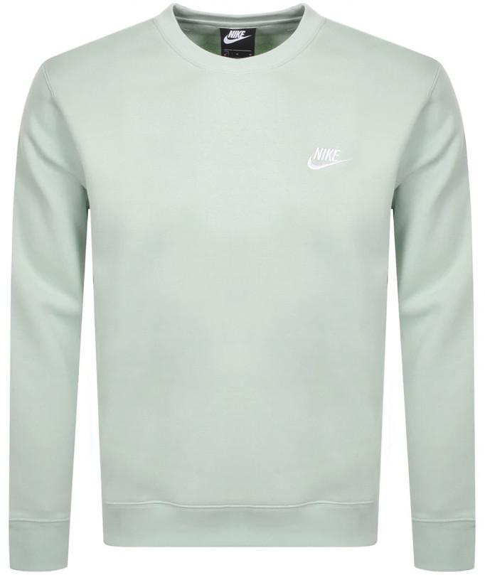 Nike Crew Neck Club Sweatshirt Green