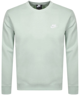 Nike Crew Neck Club Sweatshirt Green