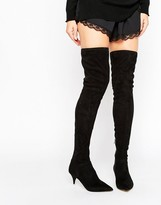 Aldo Beilla Point Mid Heeled Over the Knee Boots