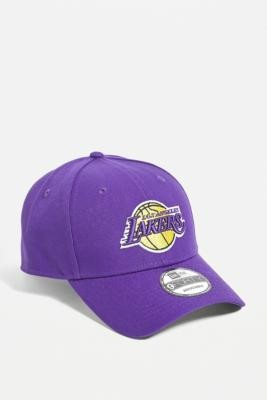 New Era LA Lakers Cap - Purple ALL at Urban Outfitters