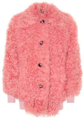 Miu Miu Lamb fur jacket