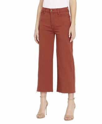 Buffalo David Bitton Women's Wide Crop Jean
